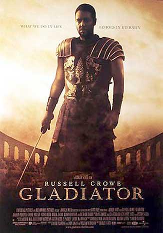 gladiatorPoster01 - Sizce �imdiye Kadar �ekilmi� En Muhte�em �ntikam Filmi Hangisi?
